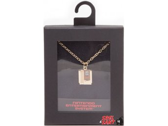 Nintendo Zelda Gold Cartridge Halsband
