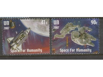 UNITED NATION (N.Y) - Mi-1075-76 - SPACE FOR HUMANITY**