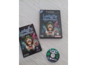 Luigi's Mansion - Gamecube - luigis mansion