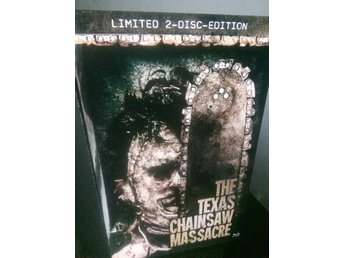TEXAS CHAINSAW MASSACRE *Stor Hardbox* Blu-ray SUPERLIMITED!