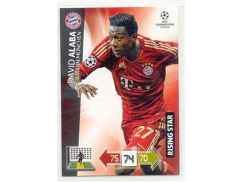 DAVID ALABA  -RISING STAR - Champions League 2012/2013