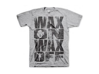 Karate Kid T-shirt Wax On Wax Off L