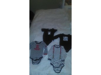 Klädpaket svart/vitt stlk 80-86 - Orsa - Klädpaket svart/vitt stlk 80-86 - Orsa