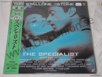 SPECIALIST, THE - STALLONE JAPAN LD