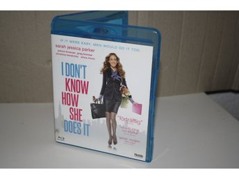 I don't know how she does it - Sarah jessica parker