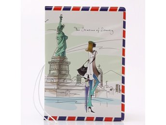 """The Statue of Liberty"" 3D Passhållare Fashionista Bloggerska"