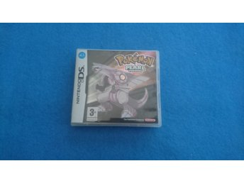 Nintendo DS Pokemon Pearl Version Komplett Svenskt