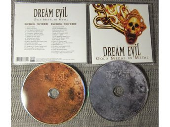 Dream Evil Gold Medal In Metal Alive & Archive2 CD Heavy Metal Göteborg 2008