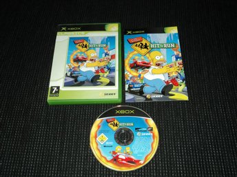 XBOX Simpsons Hit & Run