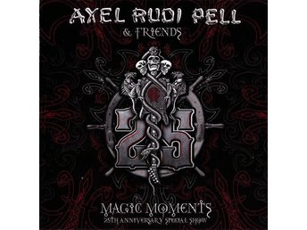 AXEL RUDI PELL-Ny 3 CD Digi Fold Out-Magic Moments 25th Anniversary Special Show