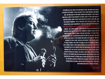 Tavla / Poster : Bill Hicks - This is just a ride (40x60 cm)