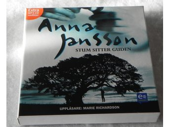 Anna Jansson StumSitter Guden Ljudbok  6 Cd Skivor 1  MP 3 CD ÅR 2000