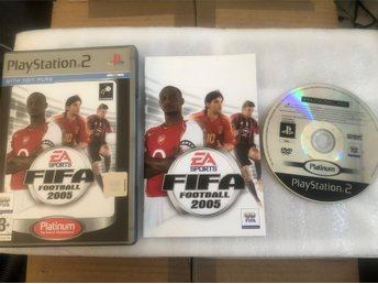 Playstation 2 PS2 spel - FIFA Football 2005