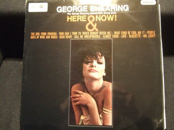 LP - GEORGE SHEARING. Here & Now! 1966