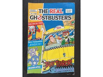 The Real Ghostbusters Nr 2 1988 serietidning Taxi terror!