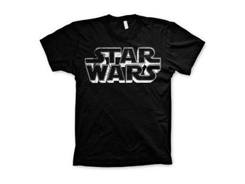 Star Wars T-shirt Distressed Logo M