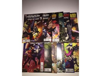 Venom Space Knight 1-11  Complete (2015) 149sek!!!