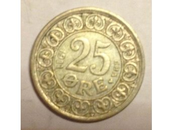 Danmark 25 öre 1911 1 - Vikingstad - Danmark 25 öre 1911 1 - Vikingstad