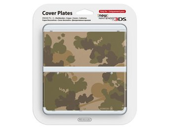 New Nintendo 3DS Coverplate Camo (017) (Fyndvara - Klass 2)