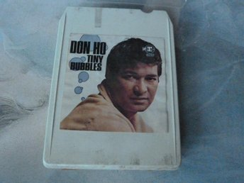DON HO, TINY BUBBLES,  KASSETTBAND, 8-TRACK