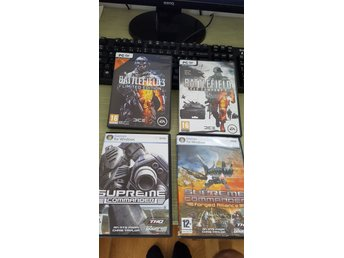Battlefield 2 Bad Company, Battlefield 3, Supreme Commander+Forged Alliance PC - Alingsås - Battlefield 2 Bad Company, Battlefield 3, Supreme Commander+Forged Alliance PC - Alingsås