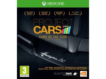 Project CARS Game Of The Year Edition (50+ Bilar) - Helt nytt till Xbox One! REA