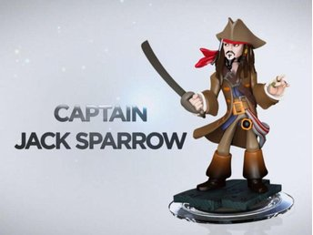Spel Figurer Wii PS4 PS3 PC Xbox 360 Disney Infinity  Jack Sparrow REA