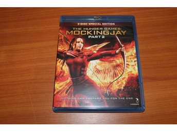Blu-ray: The hunger games: Mockingjay part 2 (Jennifer Lawrence) (2-discs)