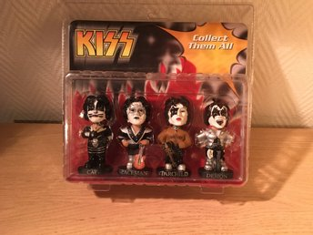 Kiss - Bobbleheads sealed set .rare