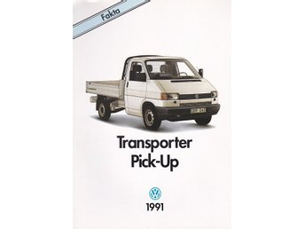 Volkswagen Transporter Pick-Up 1991 produktfakta