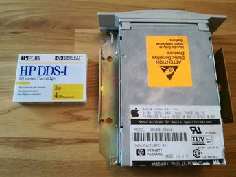 HP/Apple 2 GB DDS DAT SCSI TAPE DRIVE