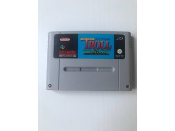 Super Troll Islands Super Nintendo SNES UKV