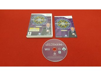 WHO WANTS TO BE A MILLIONAIRE till Nintendo Wii