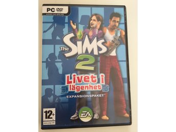 THE SIMS 2 LIVET I LÄGENHET EXPANSIONSPAKET PC DVD ROM
