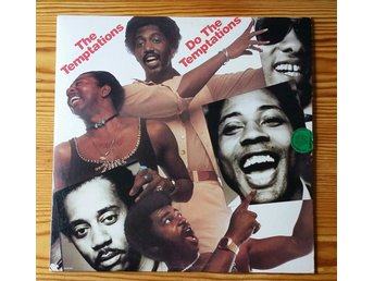 The Temptations, Do The Temptation, 1976, Skivan = Excellent+ (Provspelad)