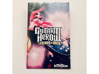 Guitar Hero III Legends of Rock (Svensk manual / PS2)