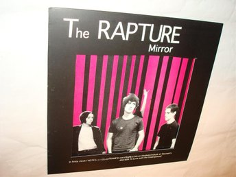 THE RAPTURE  VERY RARE LP  MIRROR  GRAVITY EMO NEW WAVE HC