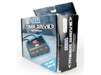 Sega Mega Drive Multiplayer (4 Player Adapter)