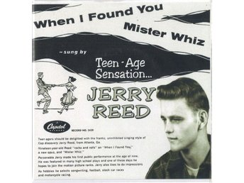 Vinyl Singel Jerry Reed-Mister Whiz / When i found you