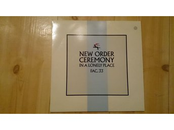New Order ?– Ceremony
