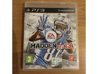 PS3 Madden NFL 13 EA Sports PS 3 Play Station Sport amerikansk fotboll