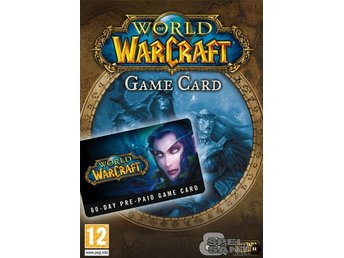 World of Warcraft 60 Dagars Game Time Card