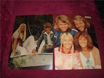 Nr 109 Abba urklipp bilder härlig nostalgi från 70-80 talet - Uppsala - Nr 109 Abba urklipp bilder härlig nostalgi från 70-80 talet - Uppsala