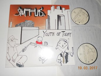 SHUFFLAS - Youth of today, dubbel-LP 2001 Svensk Hip Hop