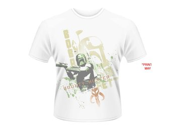 STAR WARS- BOBA FETT STENCIL (DYE SUB) T-shirt - Medium