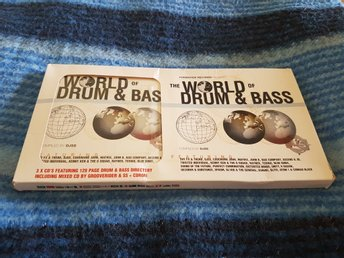 The world of drum & bass 3 cd + bok