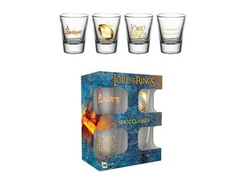 Shotglas (4st) - Lord of the Rings