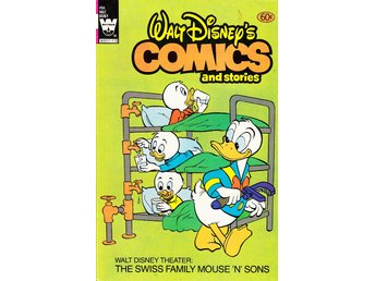 Walt Disneys Comics and Stories nr 496 (1981) / FN / snygg