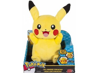 TOMY Pokemon 25cm Plush My Friend Pikachu (Med Ljud) Figur