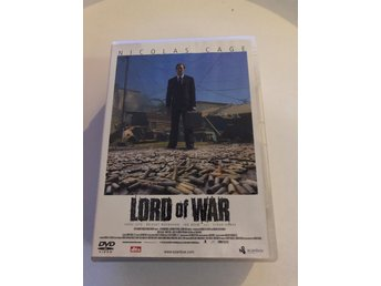 Lord of War - Nicolas Cage - Svensk text - DVD